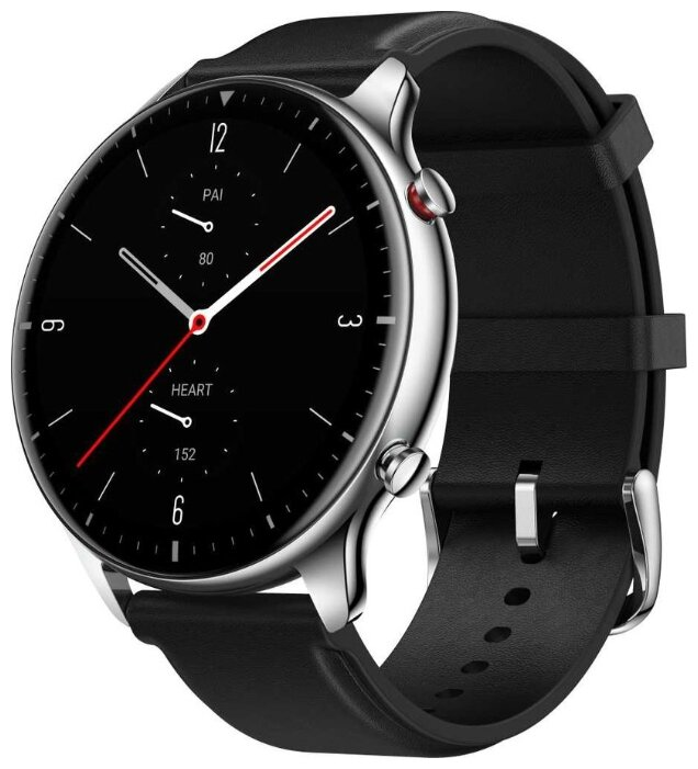 Умные часы Amazfit GTR 2 Classic, серебристый/черный фото 1