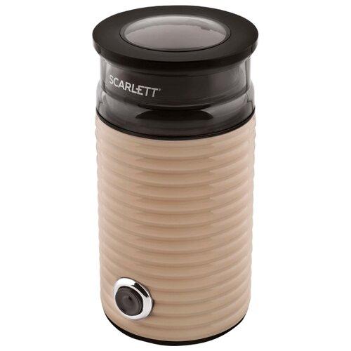 Кофемолка Scarlett SC-CG44502 бежевый/черный