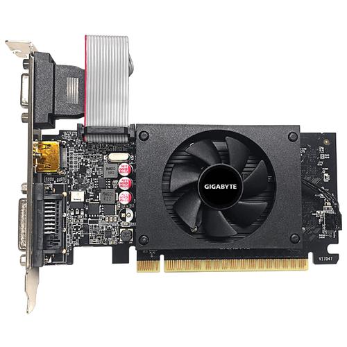 Видеокарта GIGABYTE GeForce GT 710 2GB (GV-N710D5-2GIL) Retail