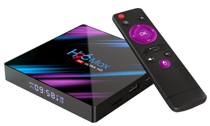 Smart TV приставка H96 MAX RK3318 4G/32Gb
