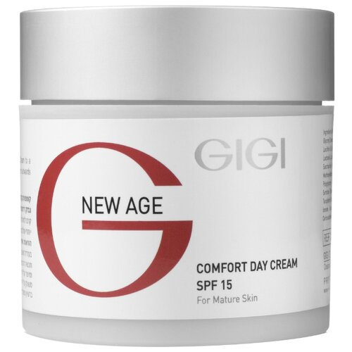 Gigi New Age Comfort Day Cream SPF 15 Крем-комфорт дневной, 50 мл gigi крем комфорт ночной new age comfort night cream 50 мл