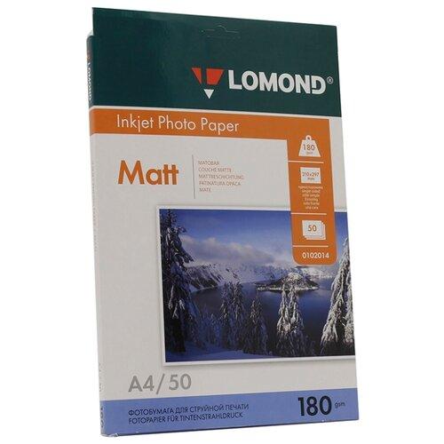 Фото - Бумага Lomond А4 0102014 180 г/м² 50 лист. белый 1 шт. микодерил крем 1% 15 г
