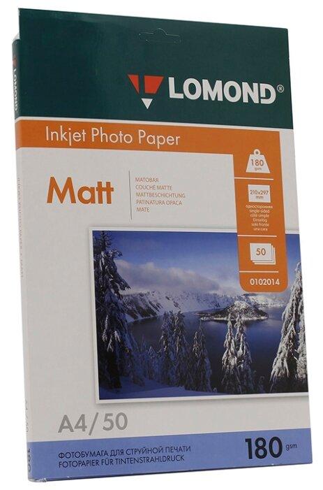 Бумага Lomond А4 0102014 180 г/м² 50 лист.