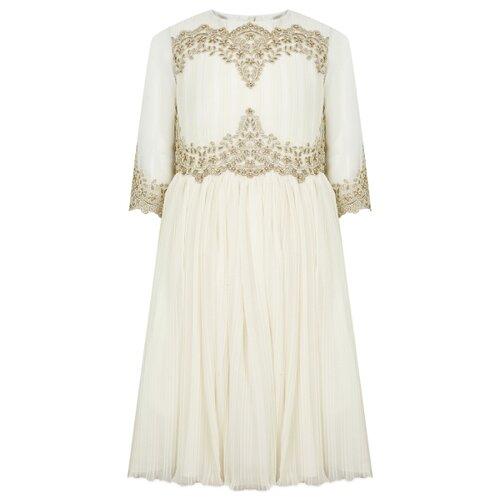 Платье Lesy размер 152, кремовый