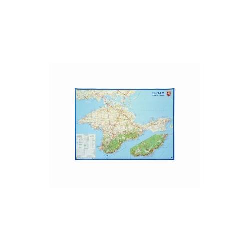 Купить РУЗ Ко Карта настенная. Крым. 1:360000, на картоне, Карты
