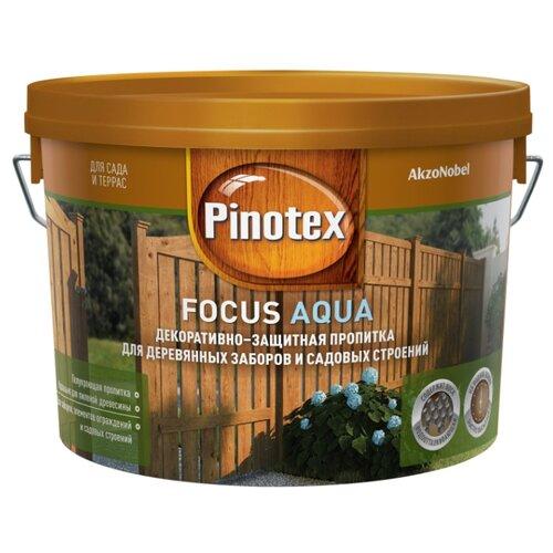 Биоцидная пропитка Pinotex Focus Aqua красное дерево 2.5 л пропитка pinotex ультра 9л07 красное дерево