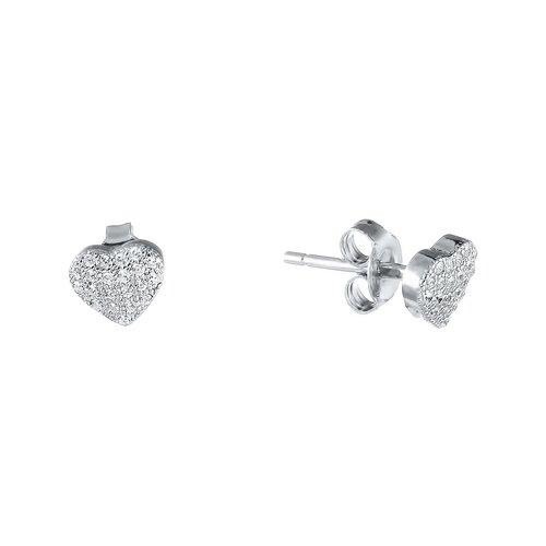 ELEMENT47 Серьги из серебра 925 пробы с фианитами CR0996-SR-001-WG element47 серьги из серебра 925 пробы eph024 sr wg