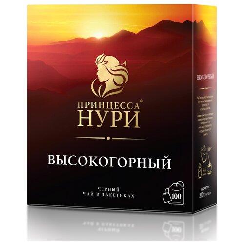 Чай черный Принцесса Нури Высокогорный в пакетиках , 200 г , 100 шт.
