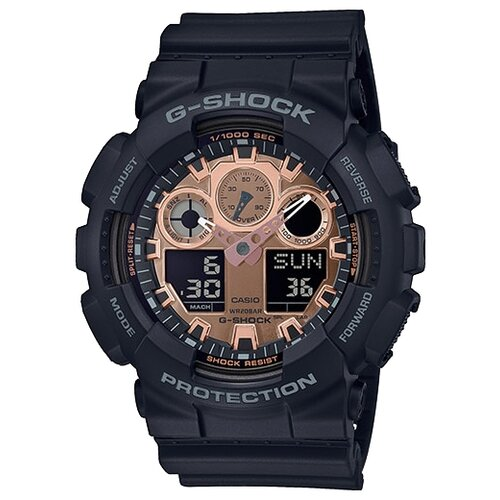 цена Наручные часы CASIO GA-100MMC-1A онлайн в 2017 году