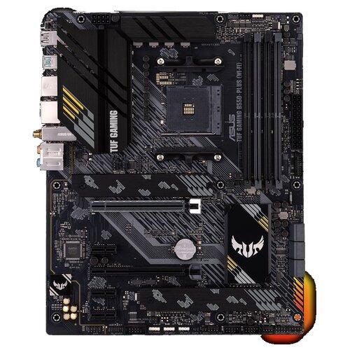 Материнская плата ASUS TUF GAMING B550-PLUS (WI-FI) материнская плата asus tuf gaming x570 plus wi fi 90mb1170 m0eay0