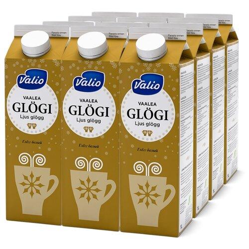 Напиток сокосодержащий Valio Glögi Глёгг белый из белого винограда с пряностями, 1 л, 12 шт. по цене 1 996