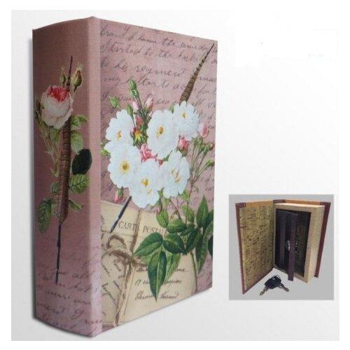 Фото - Шкатулка-сейф Белые розы, 17х11х5 см шкатулка сейф глобус феникс презент 17х11х5 см