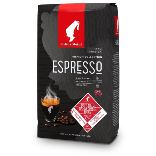 Кофе в зернах Julius Meinl Espresso Premium Collection, арабика, 1000 г meinl caj7nt bk bag