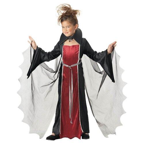 Купить Костюм California Costumes Девочка Вампир 00216, черный/красный, размер XL (12-14 лет), Карнавальные костюмы