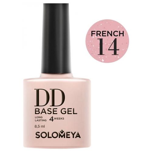 Купить Solomeya базовое покрытие DD Base Gel суперэластичное 8.5 мл French 14