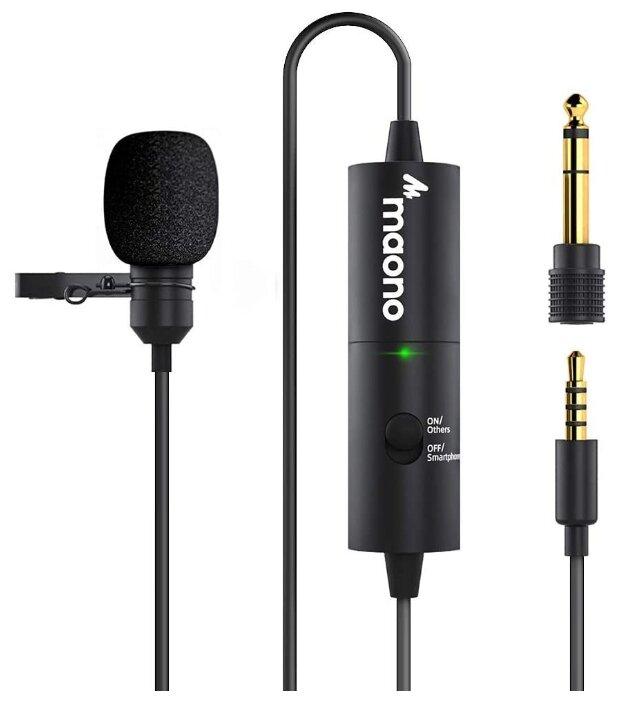 Микрофон Maono AU-100R черный фото 1
