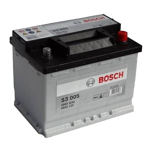 Автомобильный аккумулятор Bosch S3 005 (0 092 S30 050)