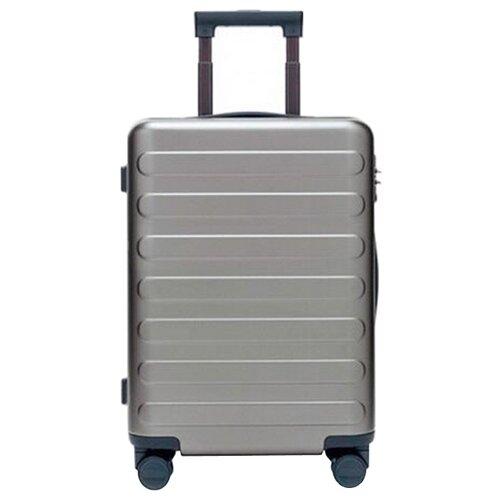 Чемодан Xiaomi 90 Points Seven Bar Suitcase 28 100 л, light gray чемодан xiaomi 90 points suitcase 1a 20 white