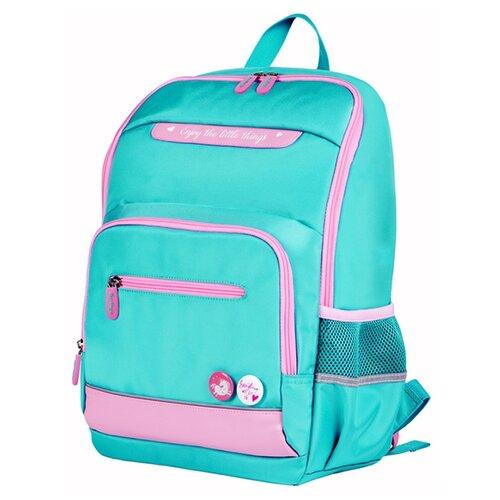 Купить Berlingo Рюкзак Mono Mint, мятно-розовый, Рюкзаки, ранцы