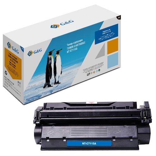 Фото - Картридж лазерный G&G NT-C7115A черный (2500стр.) для HP LJ 1000/1005/1200 площадка giotto s g mh601 90мм для адаптера g mh621