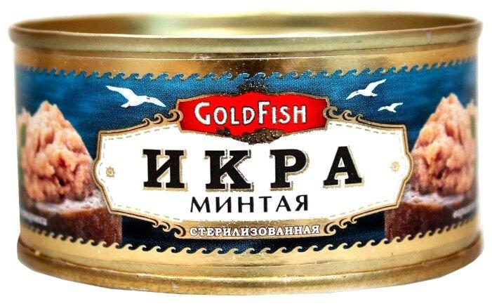 GoldFish Икра минтая 120 г жестяная банка