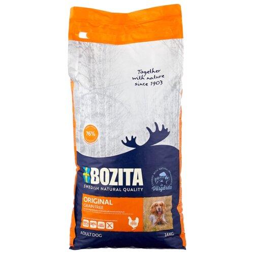Сухой корм для собак Bozita курица с картофелем 14 кг сухой корм для собак bozita баранина с картофелем 3 5 кг