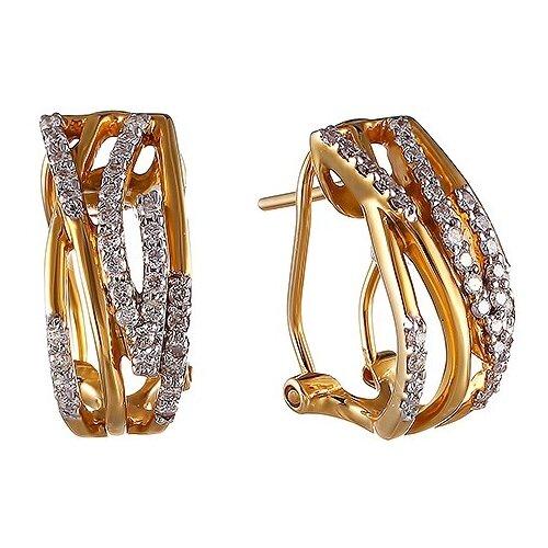 JV Серьги из золота с бриллиантами AAE-4196-WG