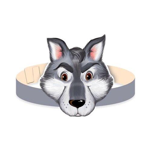 Купить Маска-ободок Волк , Творческий Центр СФЕРА, Карнавальные костюмы