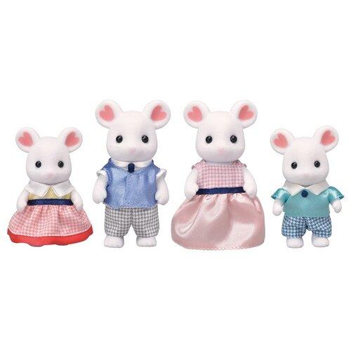 Игровой набор Sylvanian Families Семья Зефирных мышек 5308 набор семья кроликов sylvanian families