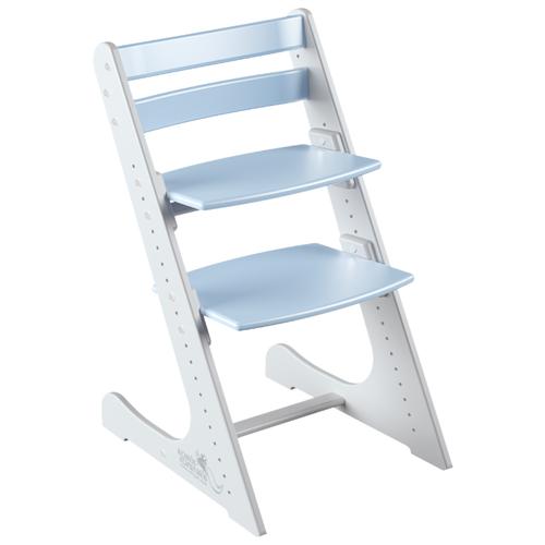 Купить Растущий стульчик Конек Горбунёк Комфорт, бело-небесный, Стульчики для кормления
