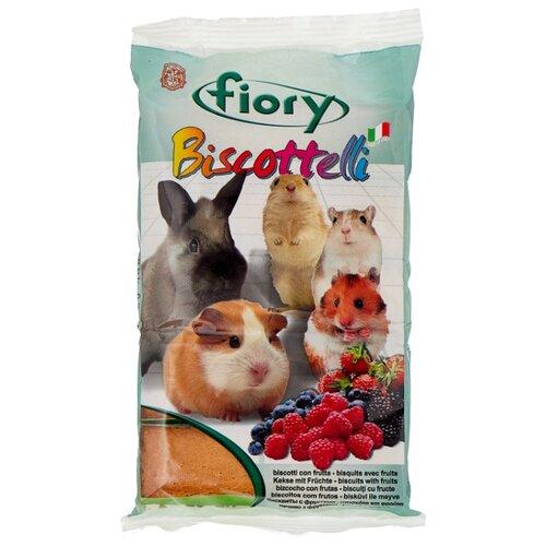 Лакомство для грызунов Fiory Biscottelli с ягодами 30 г fiory fiory бисквиты для грызунов biscottelli с ягодами 35 г