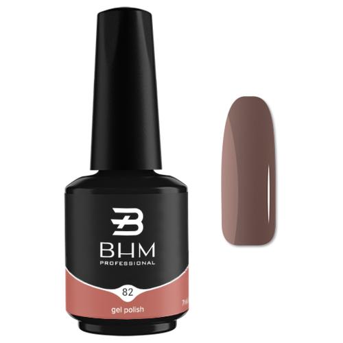 Гель-лак для ногтей BHM Professional Gel Polish, 7 мл, оттенок №82 hazelnut гель лак для ногтей bhm professional gel polish 7 мл оттенок 135