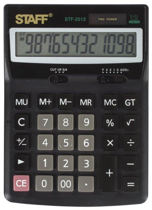 Калькулятор бухгалтерский STAFF STF-2512