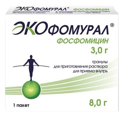Экофомурал гран. д/приг. р-ра д/вн.приема 3 г №1 — купить по выгодной цене на Яндекс.Маркете