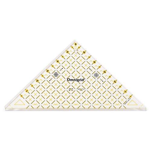 Купить Prym Линейка для пэчворка Проворный треугольник для 1/2 квадрата 6 дюймов прозрачный, Инструменты и аксессуары