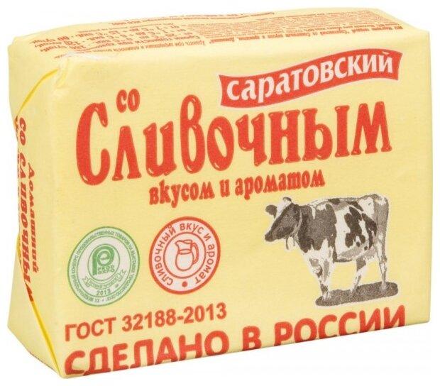 Саратовский Маргарин сливочный 60%, 180 г