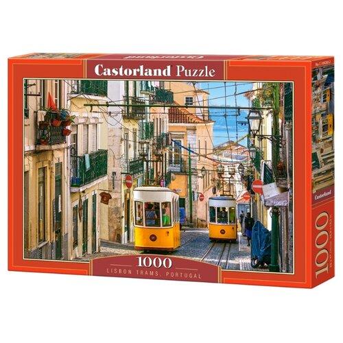 Купить Пазл Castorland Lisbon trams (C104260), 1000 дет., Пазлы
