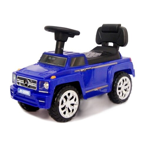 Купить Каталка-толокар RiverToys Mercedes JY-Z09B со звуковыми эффектами синий, Каталки и качалки