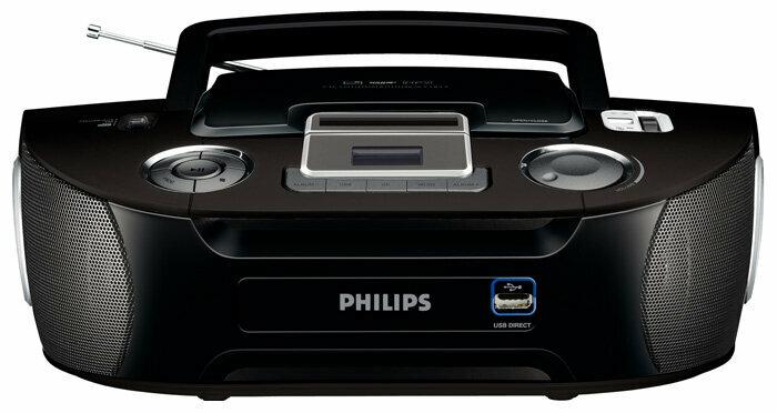 Магнитола Philips AZ 1834 черный