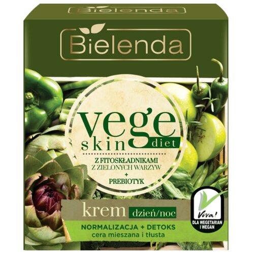 Bielenda Vege skin diet Крем для смешанной и жирной кожи лица, 50 мл gernetic international special cream mixed and oil skins крем для смешанной и жирной кожи лица 50 мл
