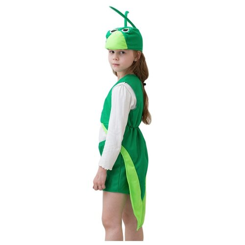 Купить Костюм Бока Кузнечик, зеленый, размер 104-116, Карнавальные костюмы