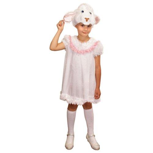 Костюм Elite CLASSIC Серая овечка, белый, размер 30 (122), Карнавальные костюмы  - купить со скидкой