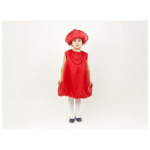 Купить Костюм ВИНИ Бусинка (91178), красный, размер 122-128, Карнавальные костюмы