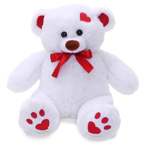 Купить Мягкая игрушка Любимая игрушка Медведь Кельвин белый, 50 см, ЛюбиМая игрушка, Мягкие игрушки