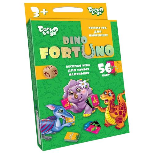 Настольная игра Danko Toys Dino FortUno