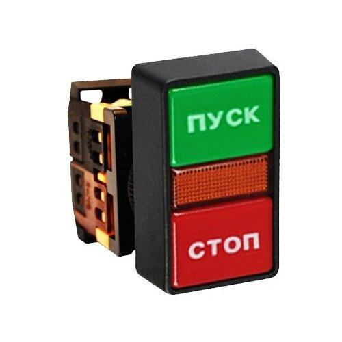 Нажимная кнопка (кнопочный выключатель/переключатель) в сборе EKF pbn-as-rec