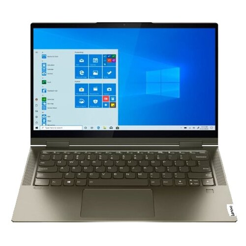 "Ноутбук Lenovo Yoga 7 14ITL5 (Intel Core i5 1135G7 2400MHz/14""/1920x1080/8GB/512GB SSD/Intel Iris Xe Graphics/Windows 10 Home) 82BH00ABRU dark moss"