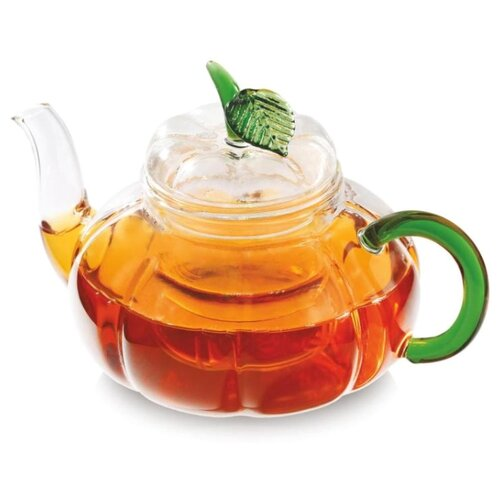 Vitax Заварочный чайник Belsay VX-3204 0,75 л, прозрачный/зеленый
