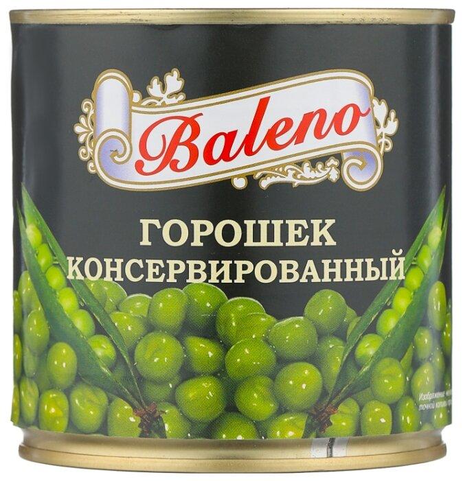 Горошек зелёный Baleno, жестяная банка 400 г