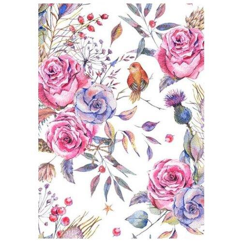 Фото - Картина по номерам Нежные цветы, 30х40 см цветной картина по номерам белый тигр 30х40 см me1072